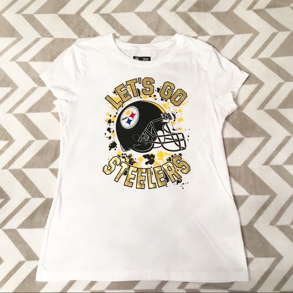 fe5069d1 Justice NFL Team Apparel Steelers Graphic Shirt